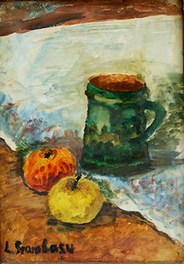Cup and Apples by Livia Geambasu