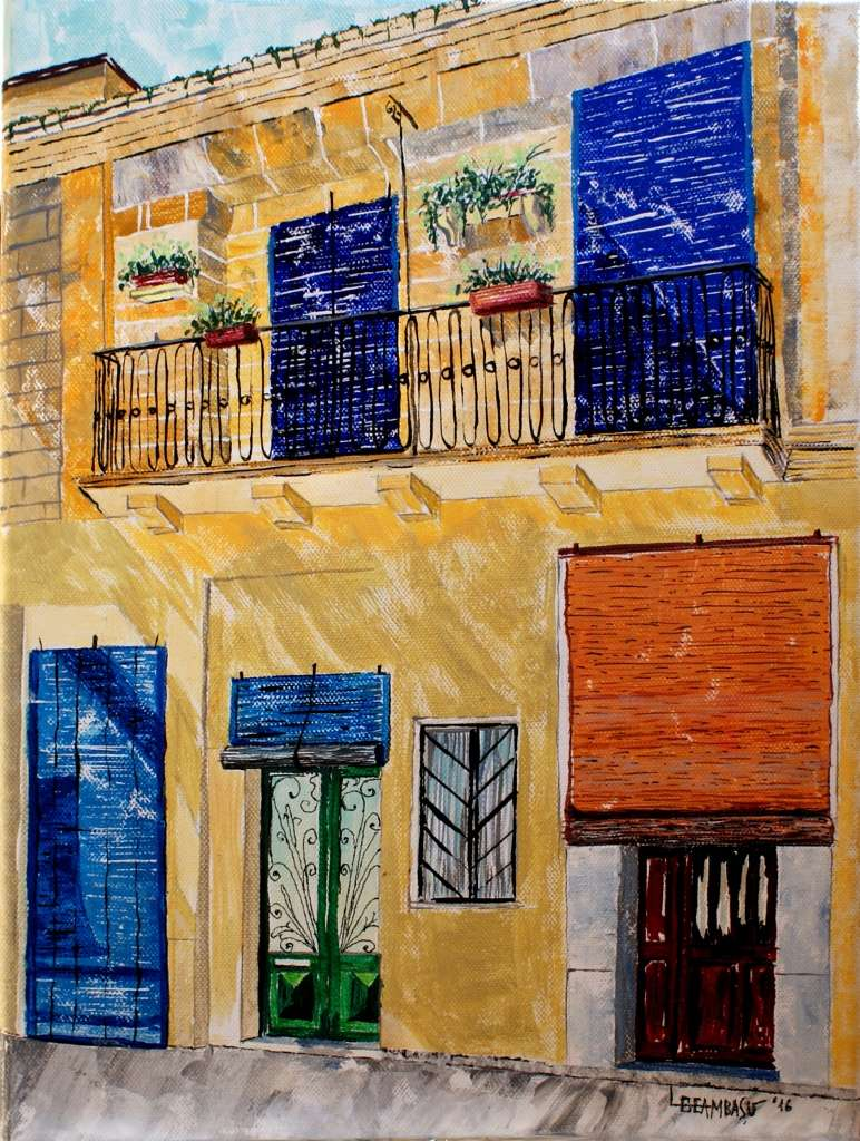 doors-of-malta-acrylic-on-canvas