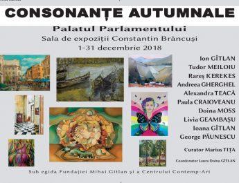 Consonante autumnale-Parlament, sala Brancusi, 01-31 dec. 2018