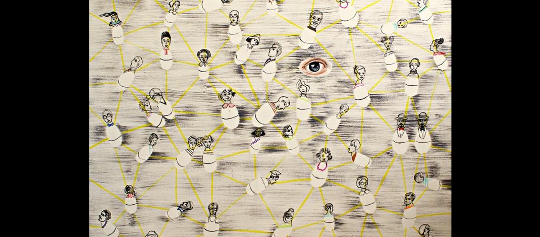 Roly-Poly-Humans-by-Livia-Geambasu-80x80cm-acrylic