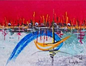 The-Red-Horizons-acryl-2016-by-Livia-Geambasu